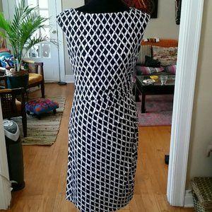 Cute NWT Navy/White Ralph Lauren Dress! *6*